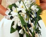 очаровательный свадебный букет
