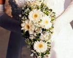 очаровательный свадебный букет невесты